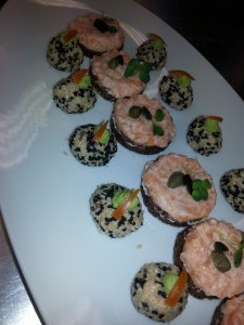Fingerfood vom Lachs