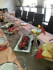 Geburtstagstafel in der Kulinarischen Werrkstatt
