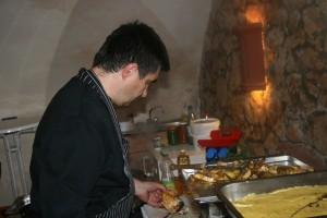 Livecooking beim Catering